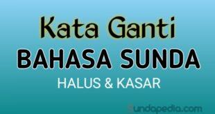 Kata ganti orang dalam bahasa Sunda halus dan kasar