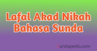 Bacaan Akad Nikah Bahasa Sunda