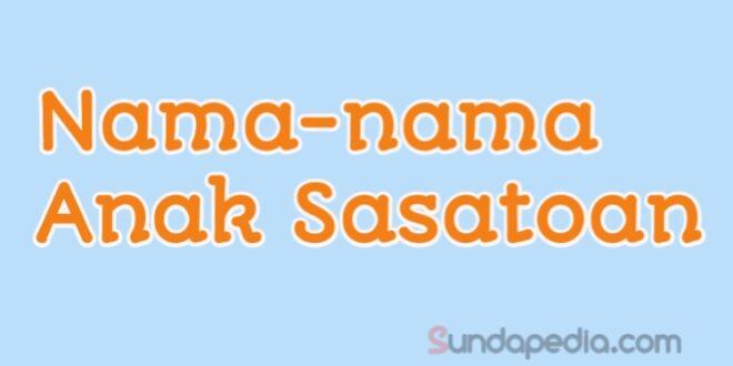 Nama anak hewan atau ngaran anak sasatoan