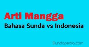 Arti Mangga bahasa Sunda vs Indonesia