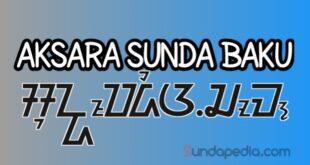 Belajar Aksara Sunda Baku Lengkap