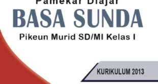 Buku Bahasa Sunda Kelas 1 SD kurikulum 2013