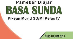 Buku Bahasa Sunda Kelas 4 SD kurikulum 2013
