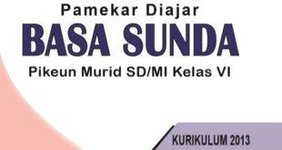 Buku Bahasa Sunda Kelas 6 SD kurikulum 2013
