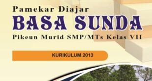 Buku Bahasa Sunda Kelas 7, 8, 9 SMP MTs Kurikulum 2013