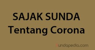 Contoh Sajak Sunda tentang Corona