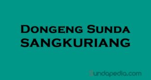 Dongeng Sangkuriang Bahasa Sunda
