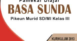 Download buku bahasa Sunda kelas 3 SD MI kurikulum 2013