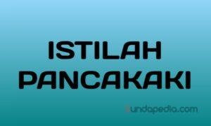 Istilah pancakaki nama keluarga atau silsilah keturunan sunda