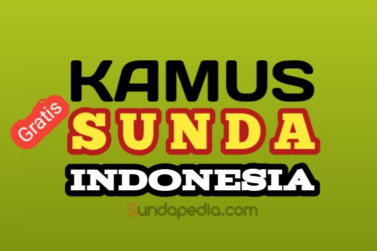 Kamus Bahasa Sunda - Indonesia