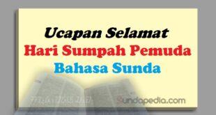 Contoh Ucapan Selamat Hari Sumpah Pemuda Bahasa Sunda