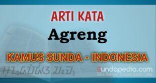 Arti Kata Agreng dalam Kamus Bahasa Sunda