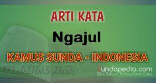 Arti Kata Ngajul dalam Kamus Bahasa Sunda Online
