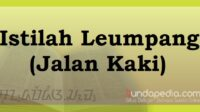 Istilah leumpang atau jalan kaki bahasa Sunda