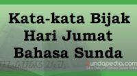 Kata-kata Bijak Hari Jumat Bahasa Sunda dan Artinya