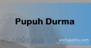 Patokan dan Contoh Lirik Pupuh Durma Sunda plus Artinya