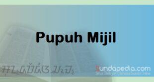 Patokan dan Contoh Pupuh Mijil Sunda plus Artinya