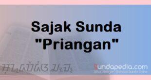 Sajak bahasa Sunda Priangan dan Artinya