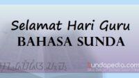 Ucapan Selamat Hari Guru Bahasa Sunda dan Artinya