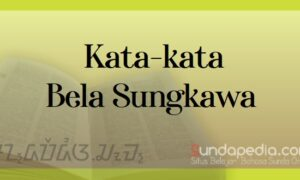 Contoh Ucapan Bela Sungkawa Turut Berduka dan Ikut Prihatin Bahasa Sunda