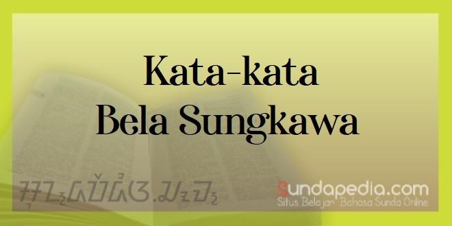 Contoh Ucapan Belasungkawa Dalam Bahasa Sunda Sundapedia Com
