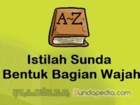 Istilah Bentuk Bagian Wajah dalam Bahasa Sunda dan Artinya