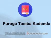 Arti Puraga Tamba Kadenda dan Contoh Kalimatnya
