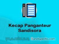Contoh Kecap Panganteur Sandisora dan Kalimatnya