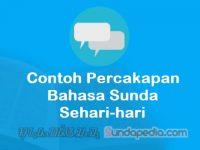 Contoh Percakapan Bahasa Sunda Sehari-hari dan Artinya