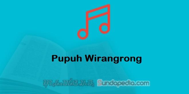 Patokan dan Contoh Pupuh Wirangrong Sunda