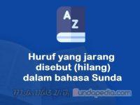Huruf yang jarang disebut atau hilang dalam bahasa Sunda (asimilasi)